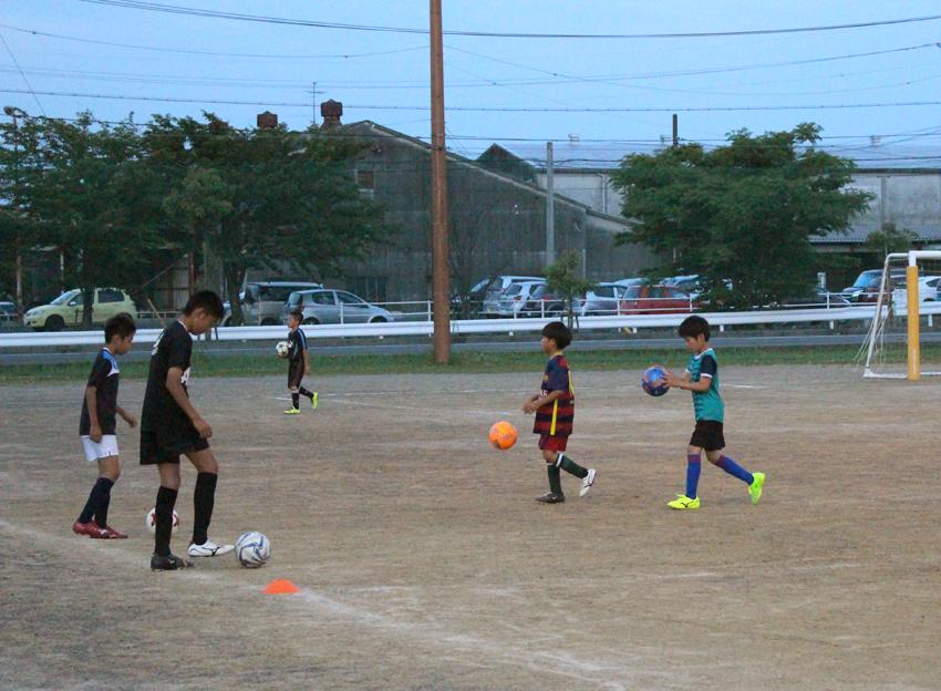 ジュニアユースサッカー