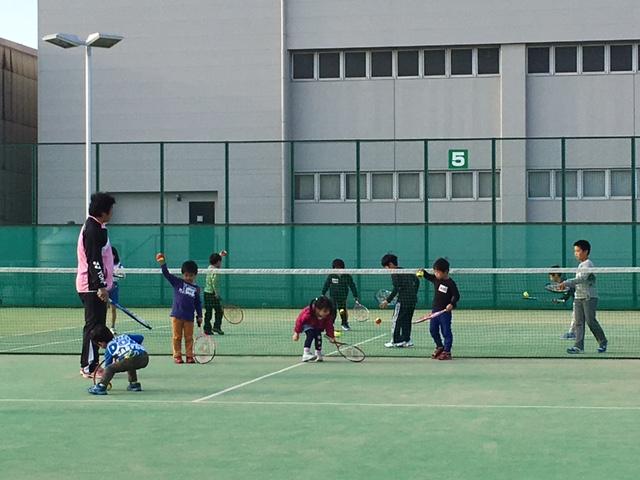 キッズテニス教室①