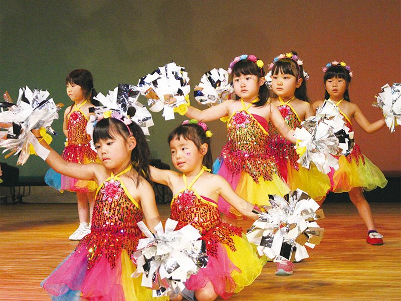 5キッズチアダンス